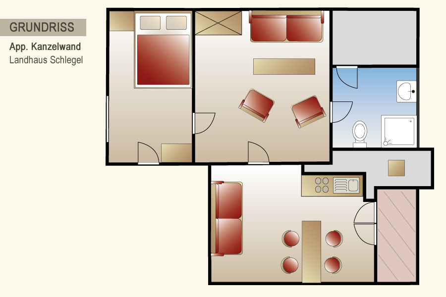 appartement kanzelwand landhaus schlegel und berghaus ebert in hirschegg im kleinwalsertal. Black Bedroom Furniture Sets. Home Design Ideas